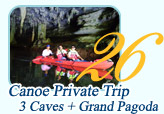 Canoe 3 Caves and Grand Pagoda by JC Tour