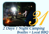 2 Days 1 Night Camping Confire and Local BBQ