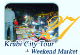 Krabi City Tour and Weekend Market
