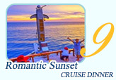 Romantic Sunset Cruise Dinner