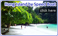 Hong Island by Speed Boat