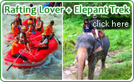 Rafting Lover and Elephant Trek by JC Tour