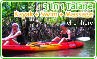 3in1 Talane Kayak Swim Massage