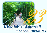 Khaolak and Waterfall and Safari Trekking by JC Tour