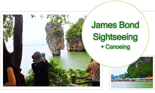 Phang Nga - James Bond Nature Tour