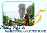 Phangnga and Jamesbond Nature Tour